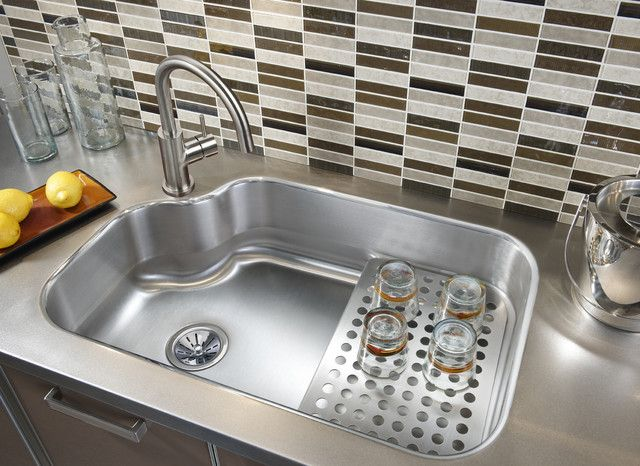 Kitchen Sink Materials Pros And Cons Cocina Con Fregadero En