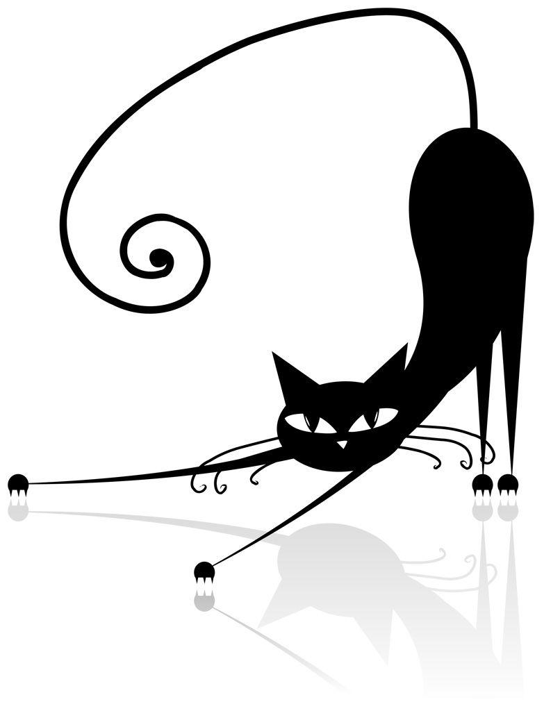 フリーイラスト素材] クリップアート, 猫 / ネコ, 哺乳類, 動物 / 生き物
