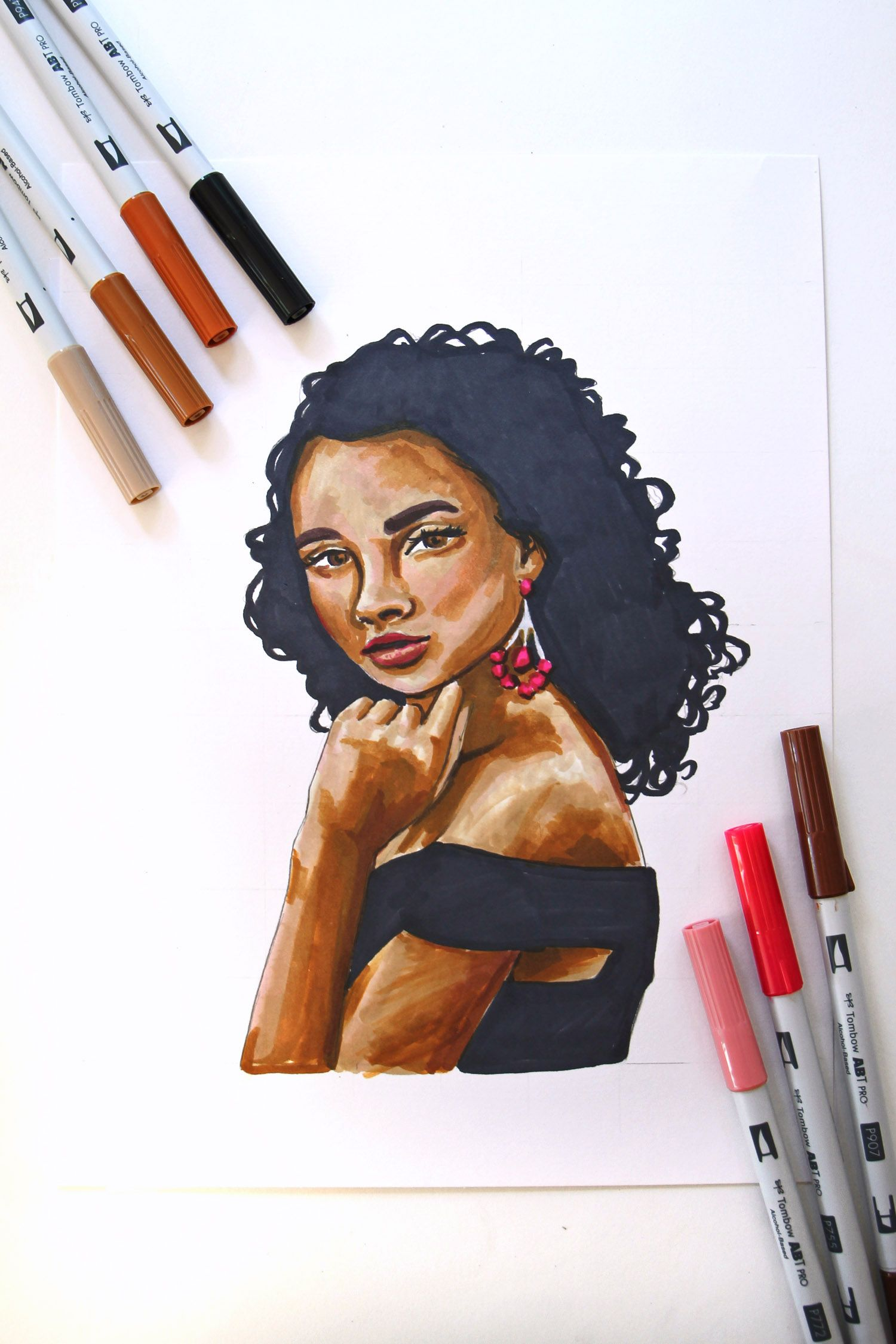 Introduction To Portrait Art Using The Grid Drawing Method