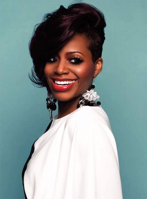 Fantasia Fantasia Hairstyles Short Hair Styles Fantasia Short Hairstyles