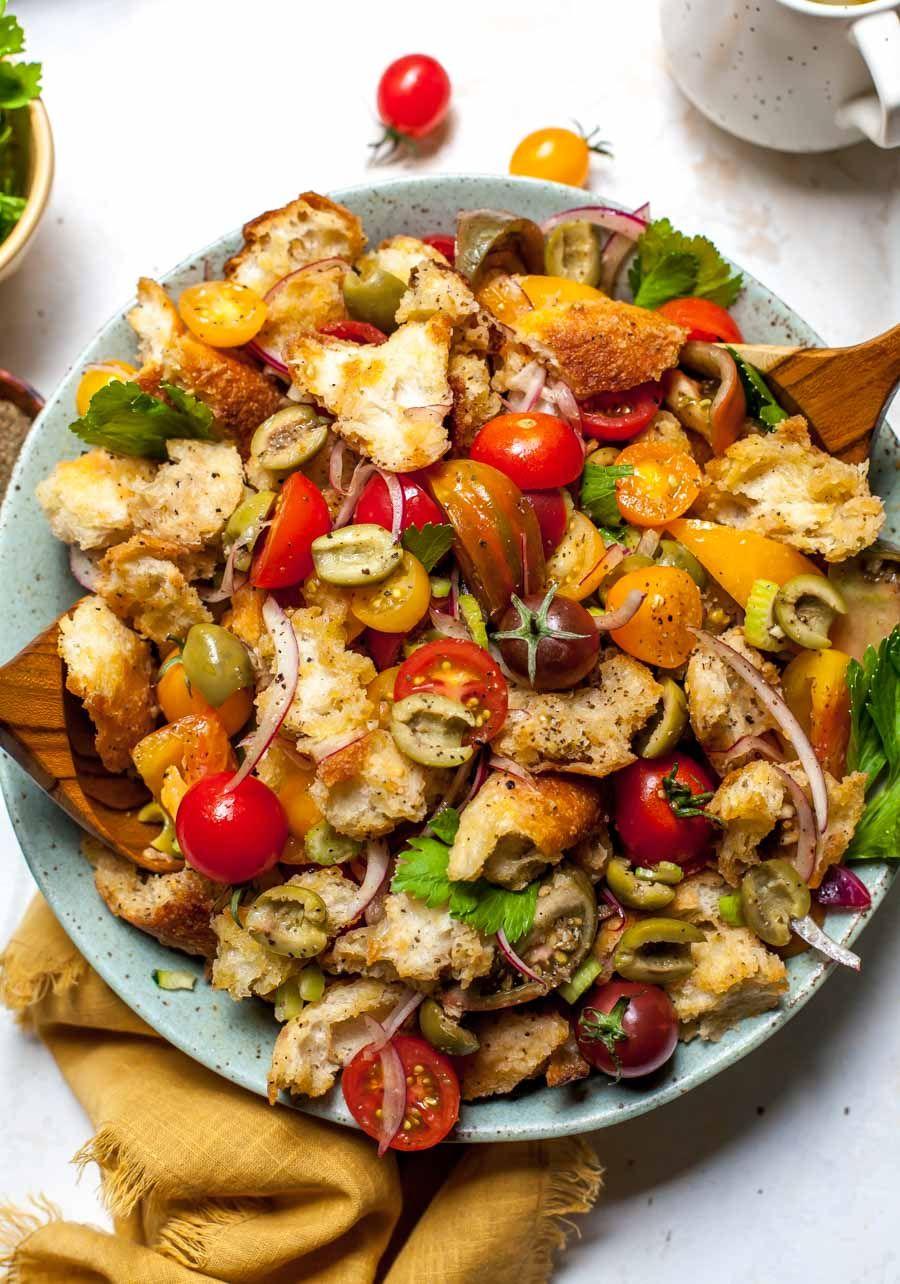19+ Bloody Mary Panzanella Salad Kollektion