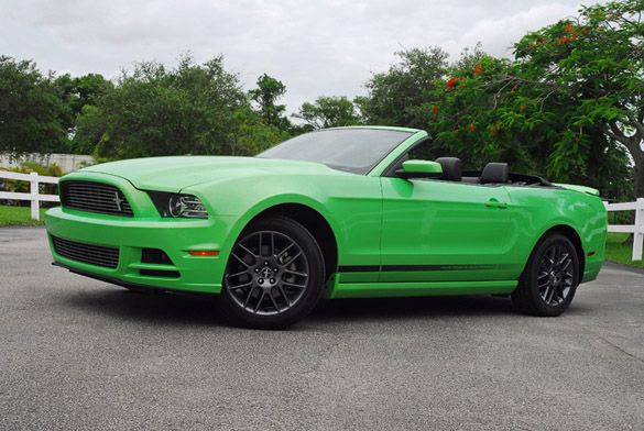 My second favorite car. My fav. Color is neon green can you tell? & Green Ford Mustang Convertible | Miscellaneous | Pinterest | Ford ... markmcfarlin.com
