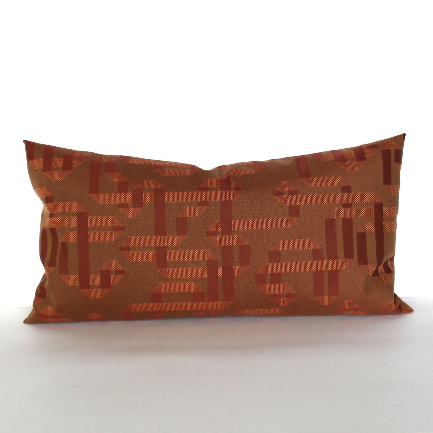 pillow com lumbar mudcloth eclecticgoods eclectic goods product no brown black