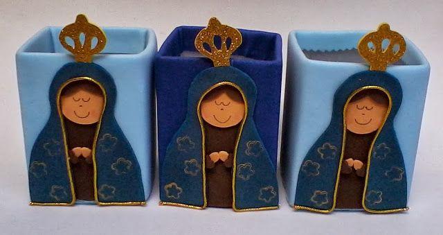 Nossa Senhora Aparecida Mãe Das Crianças: Ginez Arte: Lembrancinha De Nossa Senhora Aparecida