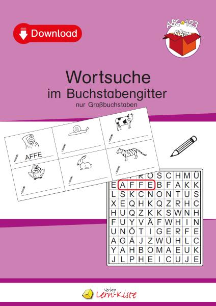 Wortsuche Buchstaben