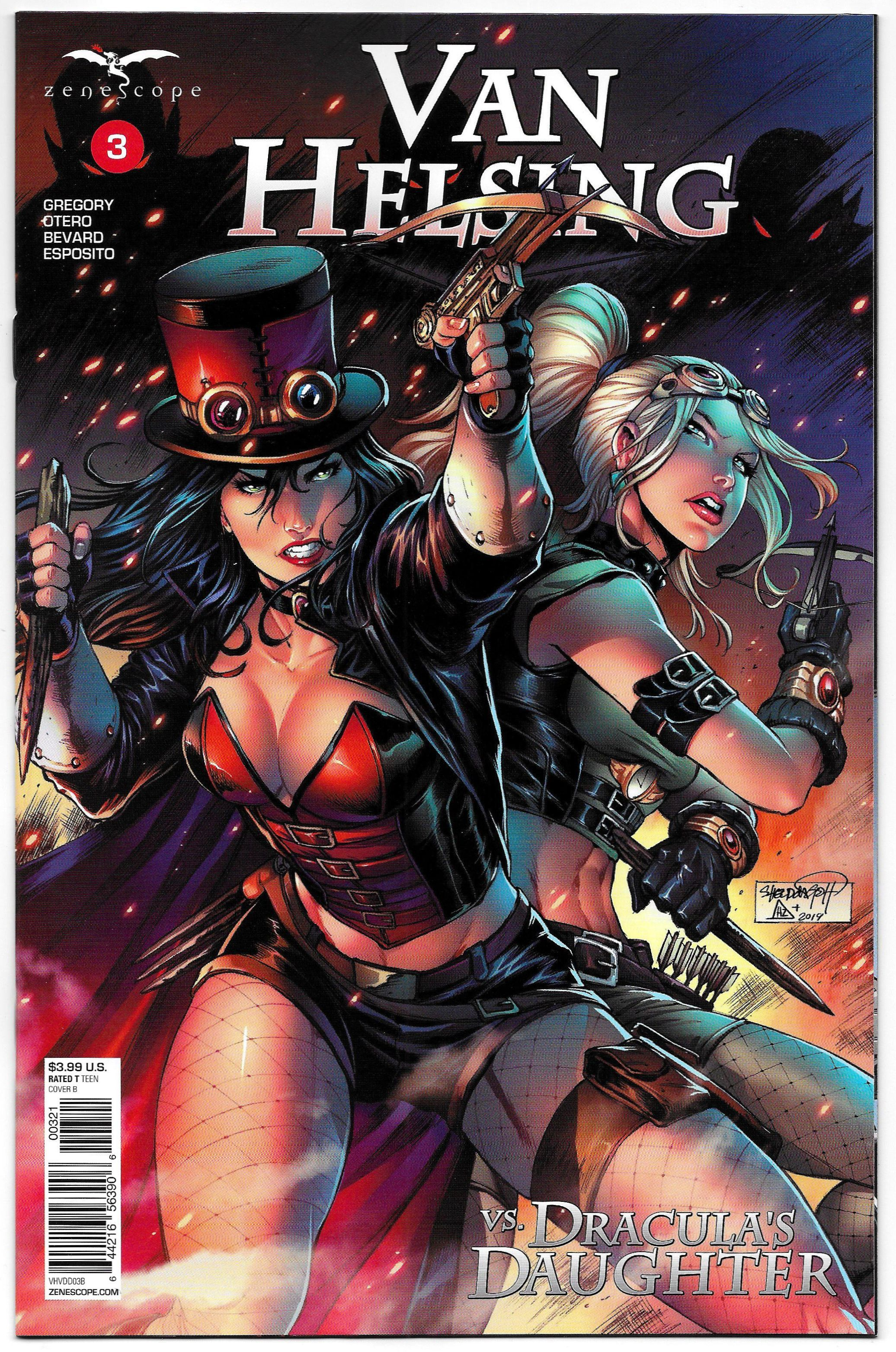 Vault 35 GFT NO TOMORROW #4 Cover A NM Zenescope Comic