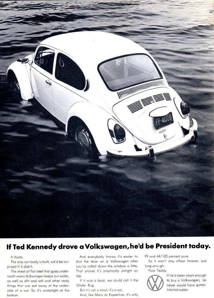 Jane On Twitter In 2020 Vintage Volkswagen Volkswagen Ted Kennedy