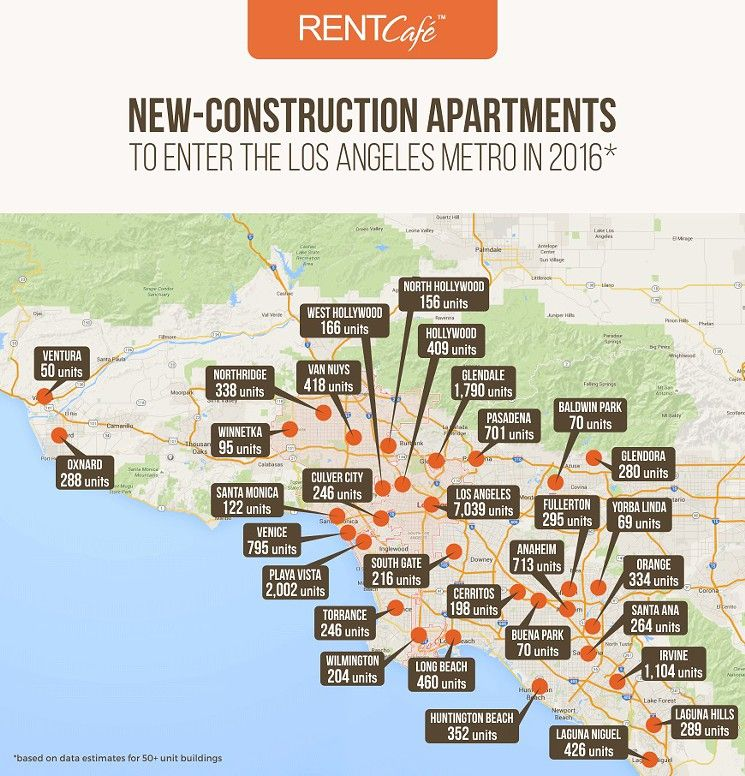 More Apartments Under Construction In Warner Center: Here's Where More Than 20,000 New Apartments Are Being