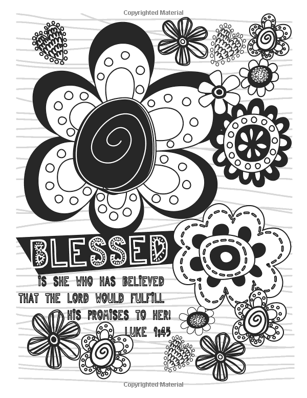 Color Your Blessings: An Adult Coloring Book for Your Soul ...