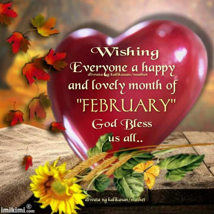 Pin by sandee mroczek on new month greetings pinterest new month greetings cry live february m4hsunfo