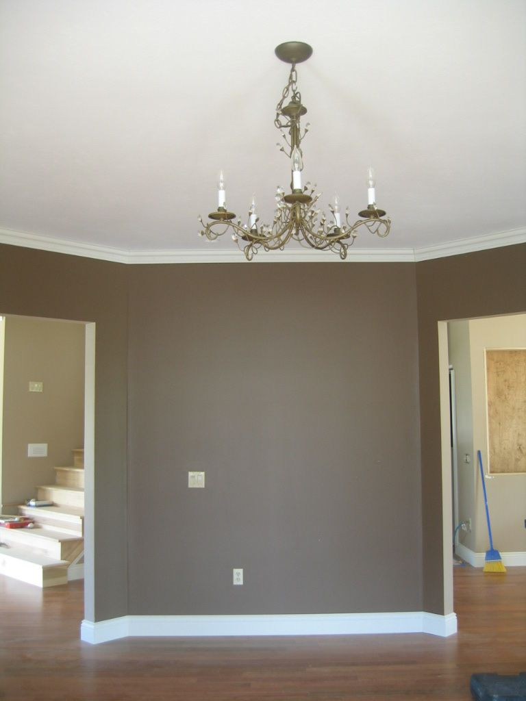 media room cobble brown sherwin williams home is where. Black Bedroom Furniture Sets. Home Design Ideas