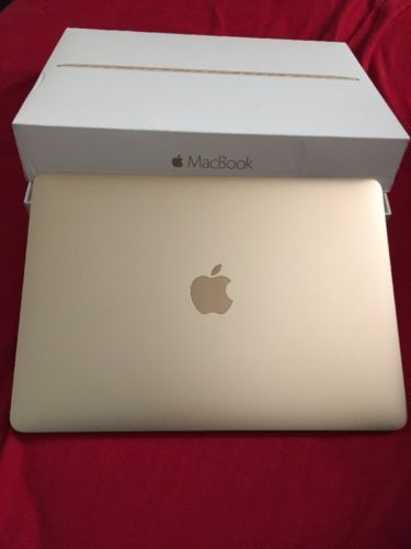 Gold 12-inch MacBook With Retina Display A1534