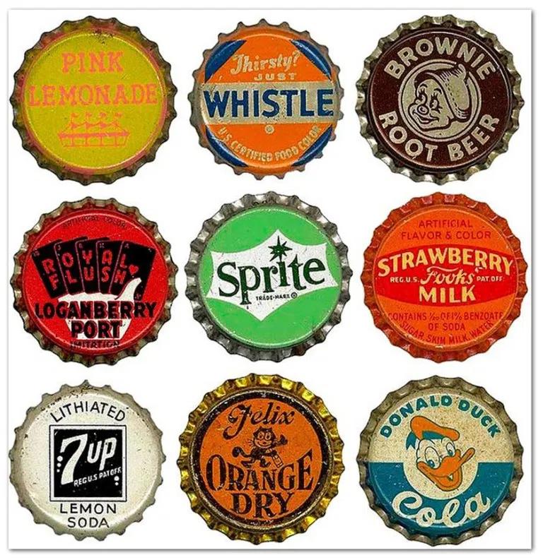 Vintage Bottle Cap Designs Eric Hatheway Bottle Cap Vintage Bottle Cap Designs