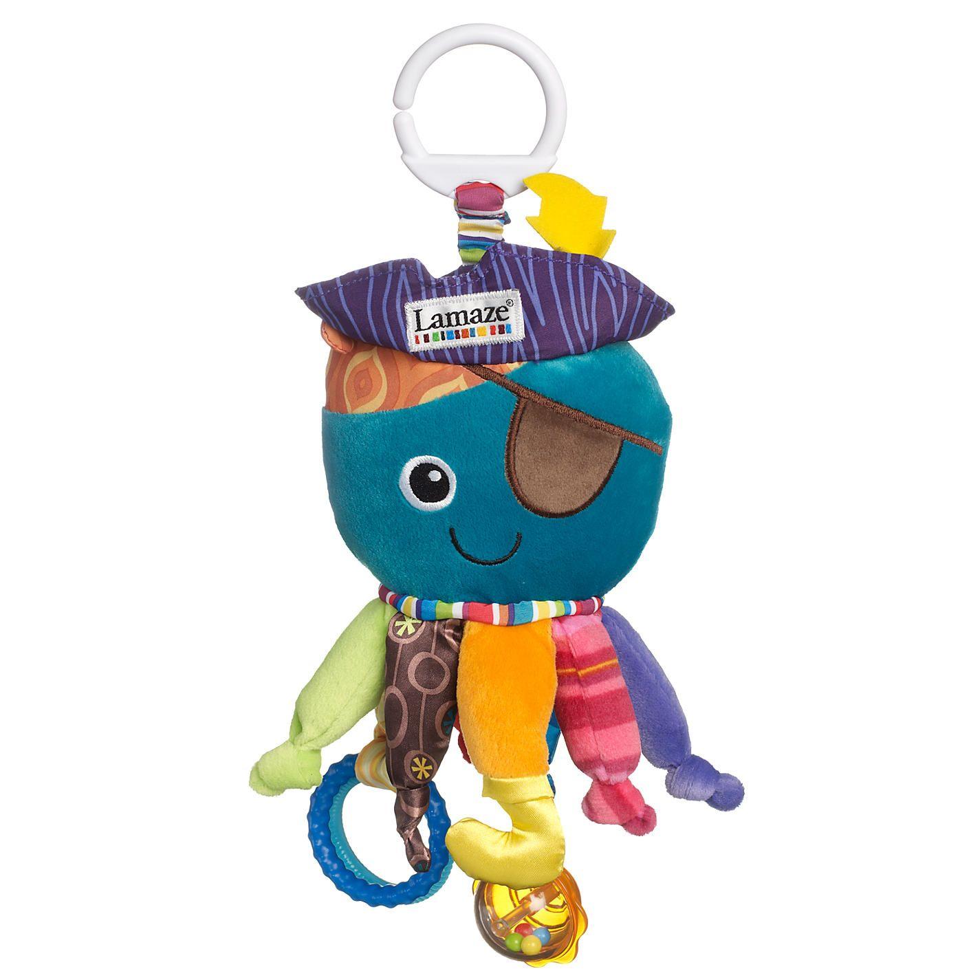 Jouet pour bébé sensoriel Calamari capitaine Lamaze Play & Grow approprié