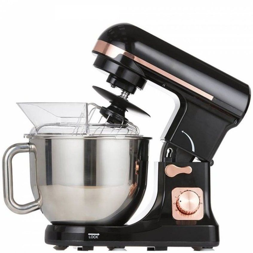 Black rose gold stand mixer beekitchendecor