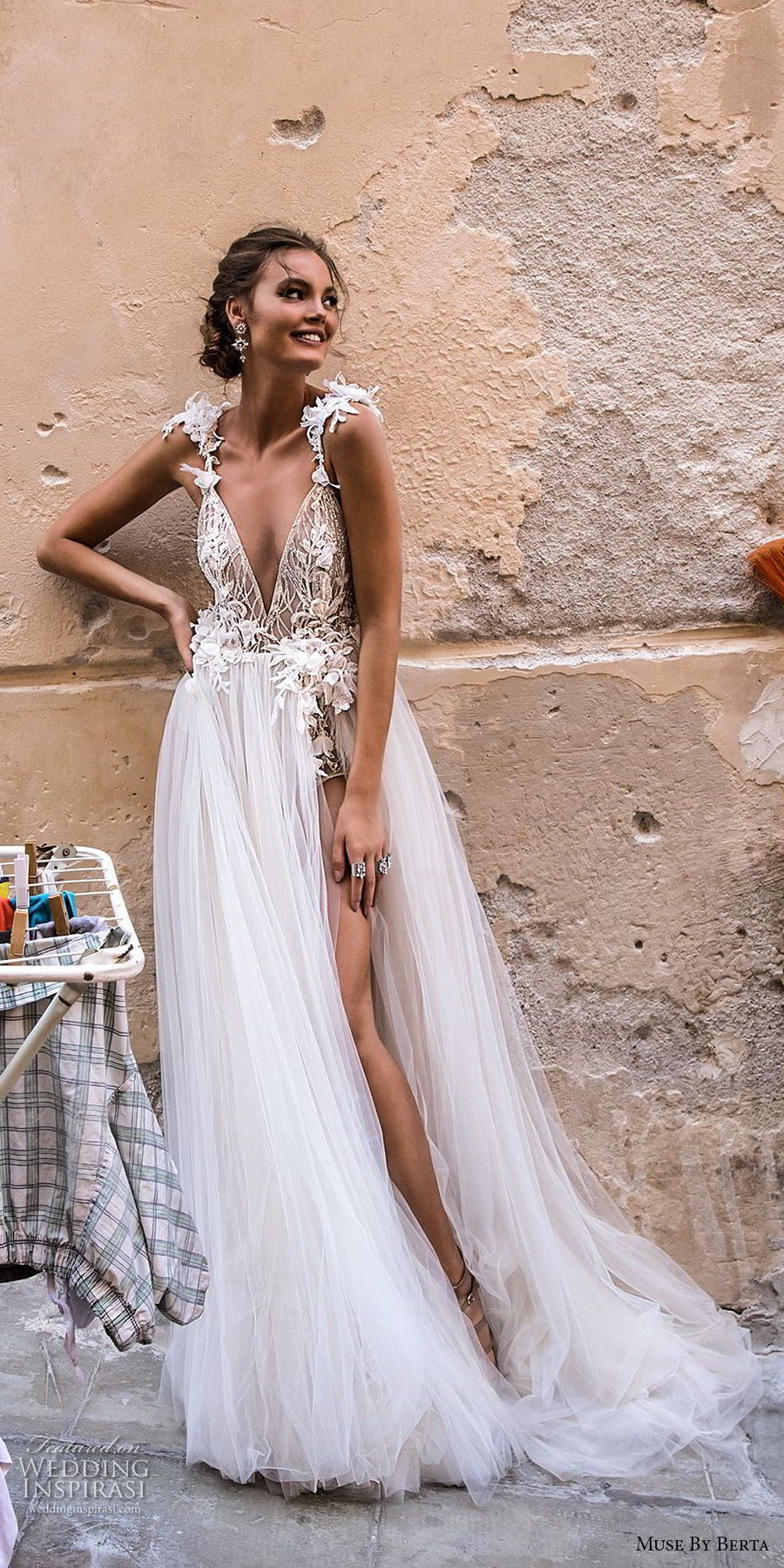 Muse by Berta 2018 Wedding Dresses — Sicily Bridal Campaign ...