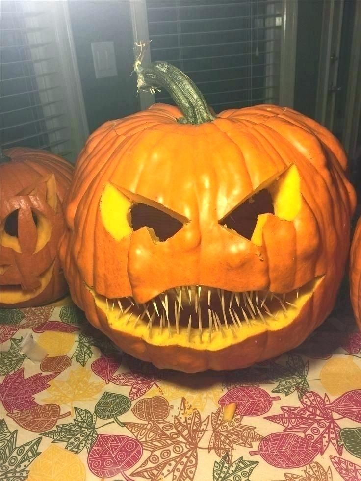 13+ Easy scary pumpkin carving designs ideas in 2021