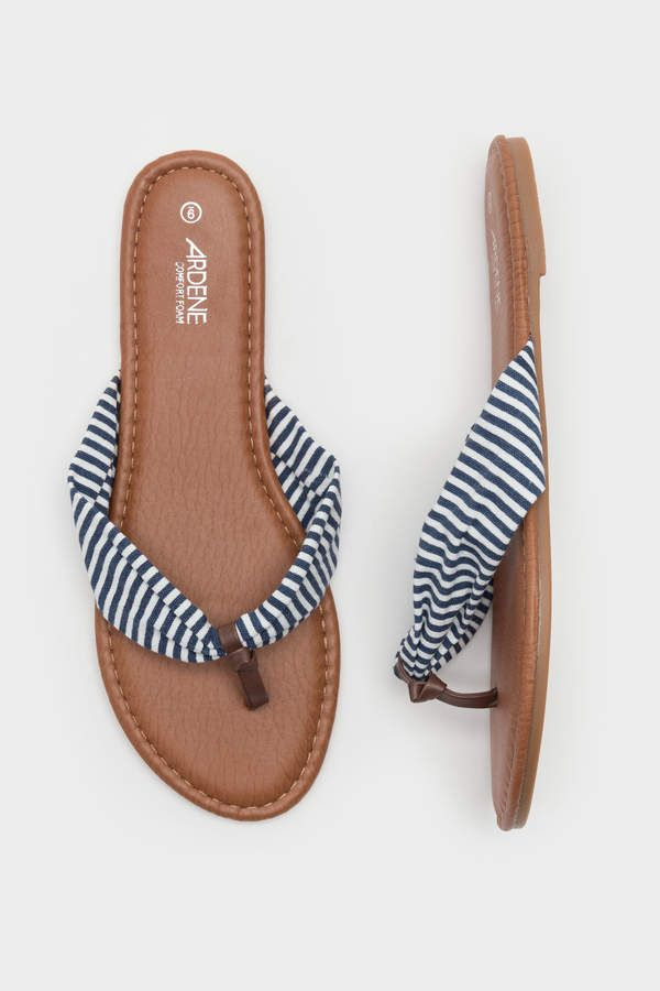 e2e18e7fc Ardene Faux Leather Flip-Flops in 2019