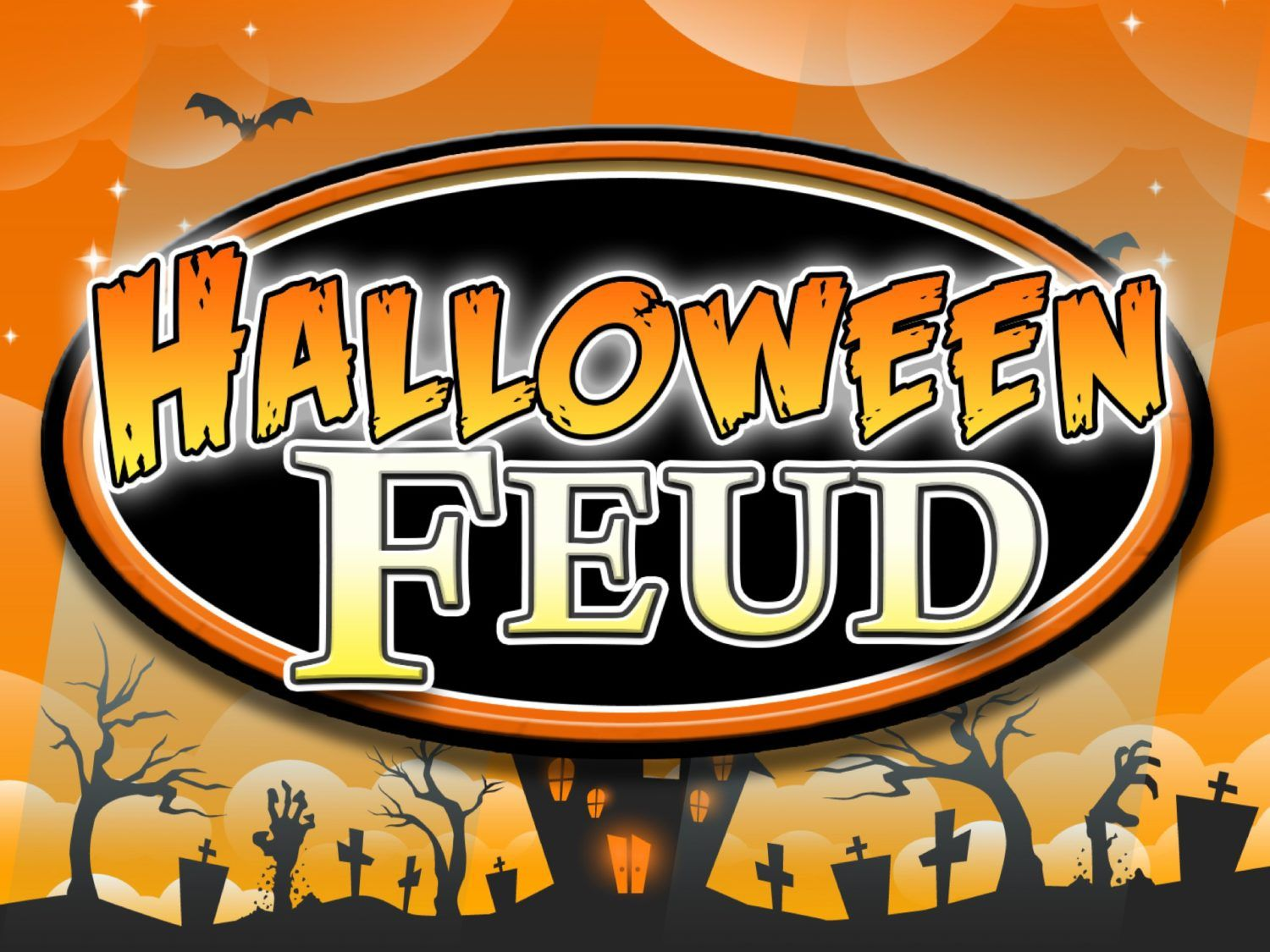Halloween Family Feud Trivia Powerpoint Game Mac and PC