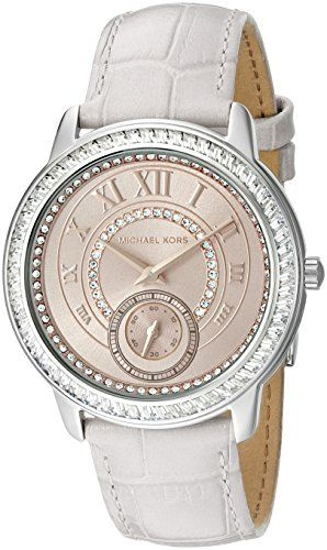 Michael Kors Womens Madelyn Stainless Grey Watch MK2446 >>> Find out more about the great product at the image link.