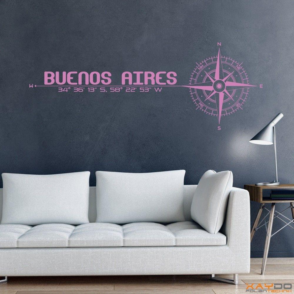 "Wandtattoo ""Stadt Buenos Aires"" - ab 19,95 € | Xaydo Folientechnik"