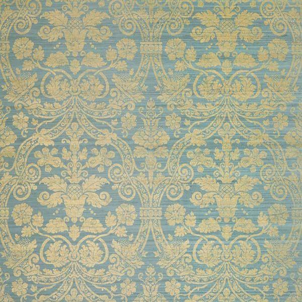 Damask Vittorio Green Marvic Textiles