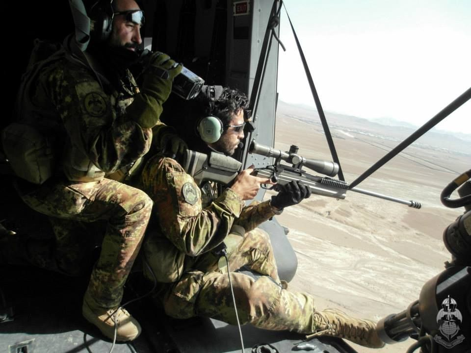 185rrao Fs Fos Sniper And His Spotter In Position On A