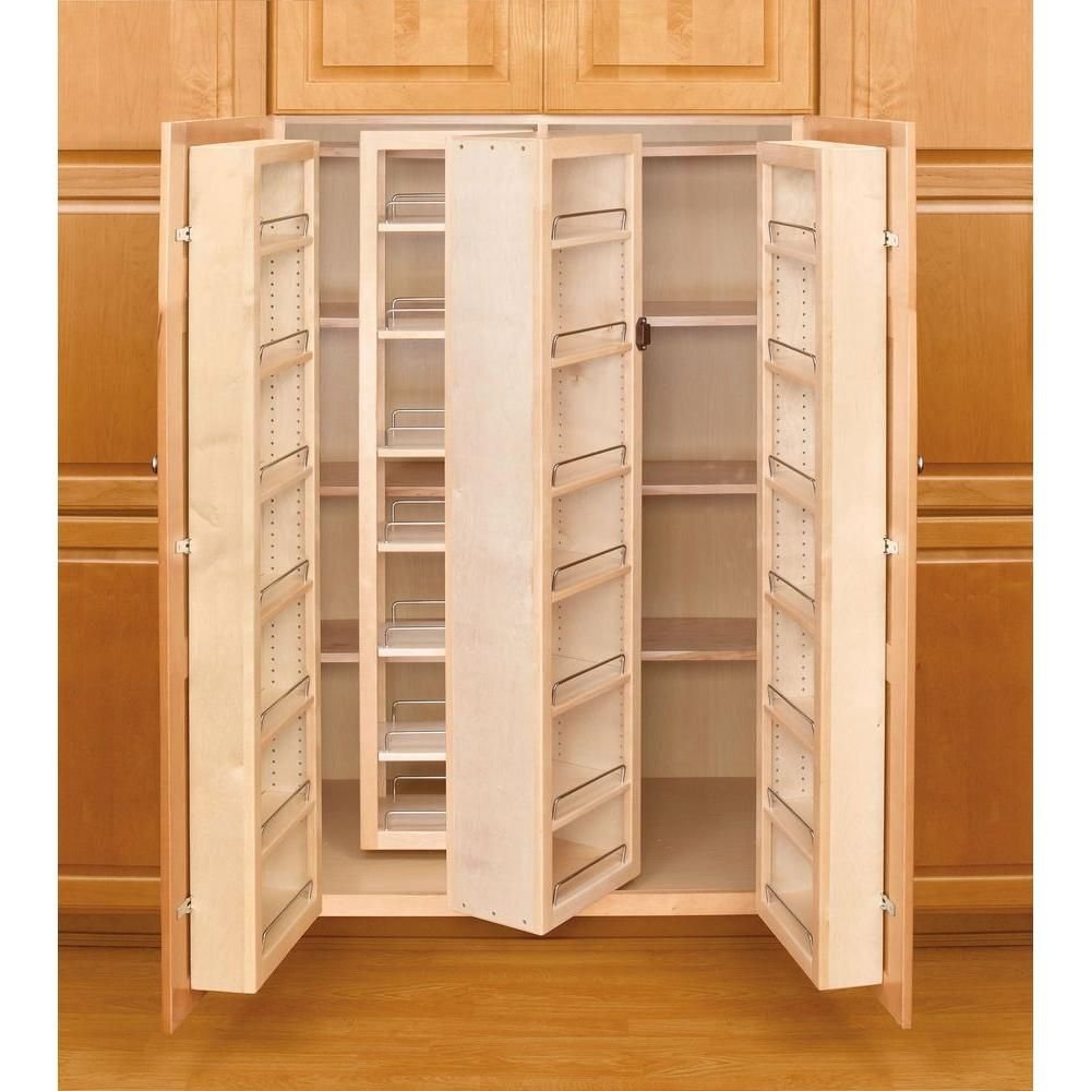 54 Tall 36 Wide 34 Deep Knock Out Center Section Shorten Shelves Add Slides Drawers Shelves On Doors Fi Rev A Shelf Kitchen Pantry Cabinets Pantry Cabinet