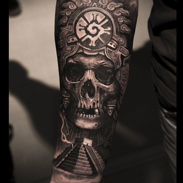 aztec cheif tattoo mexiko tattoo tattoo ideen und mexiko. Black Bedroom Furniture Sets. Home Design Ideas