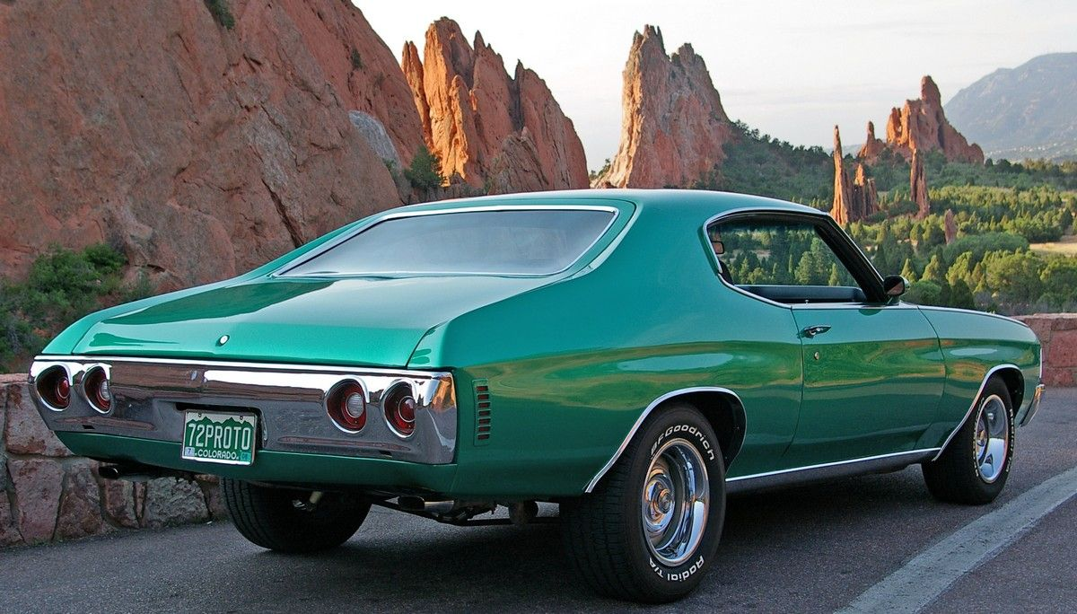 1972 chevelle hatchback in the garden of the gods our favorite photo spot