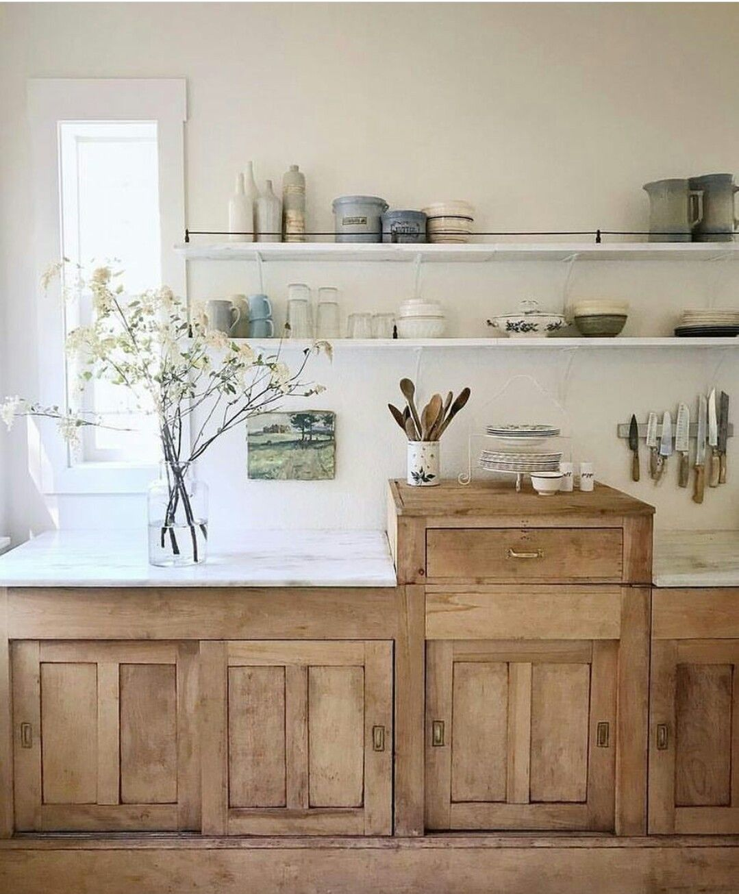 Kitchen Cabinets Stained Light: Pin By Jenni Kayne On Kitchen In 2019