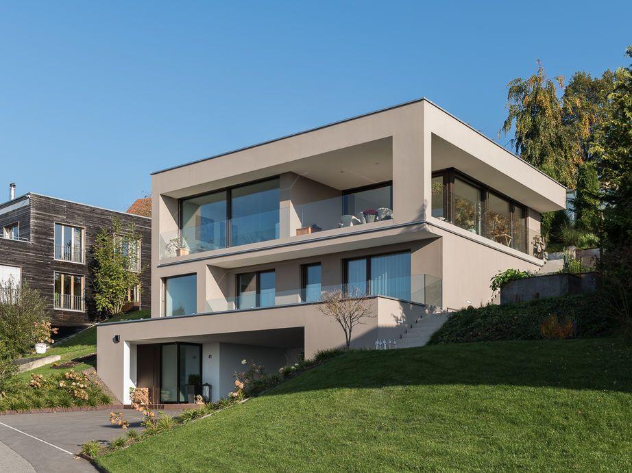 Einfamilienhaus #Hanghaus # Modern #Edelstahlpool# Luxushaus Mit