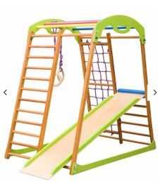 Playground for home and yard Climbing triangle Bab