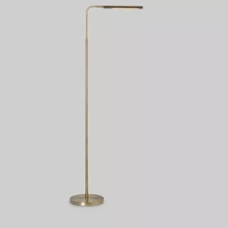 Shop For Gold Floor Lamp Online At Target Free Shipping On Orders Of 35 And Save 5 Every Day With Your Target In 2020 Reading Lamp Floor Floor Lamp Gold Floor Lamp