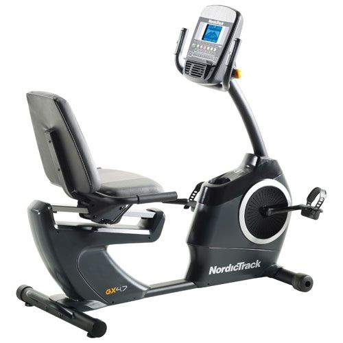 Take A Ride With The Nordictrack Gx 4 7 Exercise Bike As It Helps