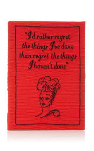 Exclusive Lucille Ball Felt Clutch by Olympia Le-Tan | Moda Operandi