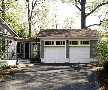 the garage doorwindow above garage door  Transom windows above the garage doors