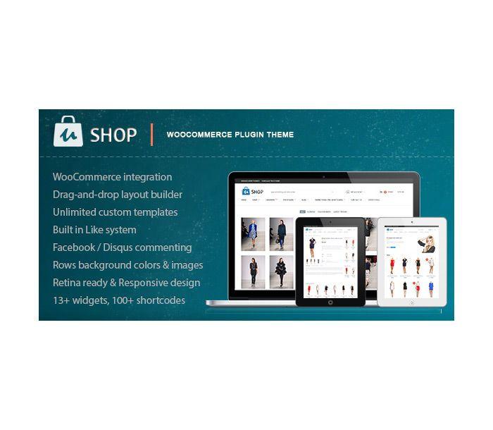 uShop Responsive Retina Loja em Wordpress | J.M. Projeto Sites em Wordpress, Loja Virtual Fastcommerce