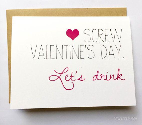Galentine's Day Friend Valentine's Day Card Best by BEpaperie ...