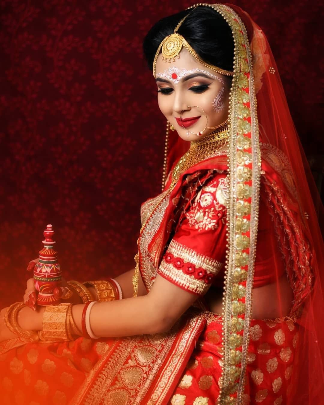 Female Bengali Wedding Photography Poses Wedding Photography Poses