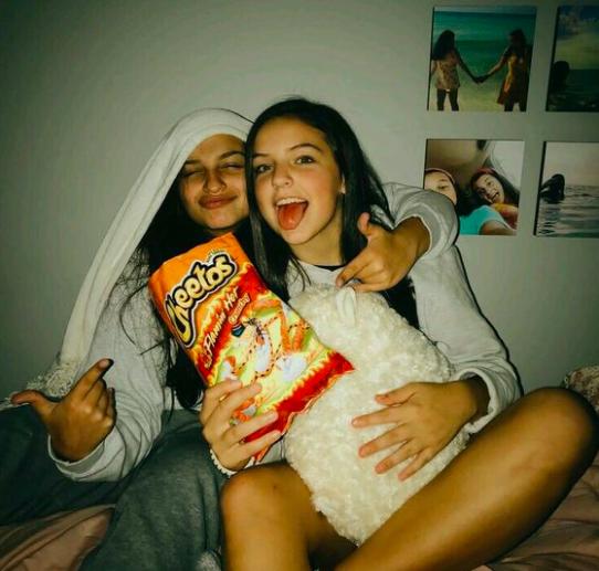 #cheetos #besties #danikabelle