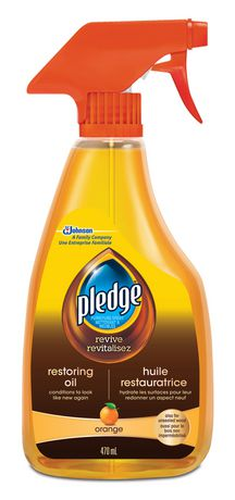 Pledge Furniture Cleaner Polish With Natural Orange Oil Orange