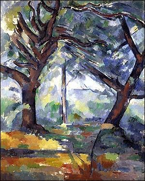 Cézanne's The Big Trees