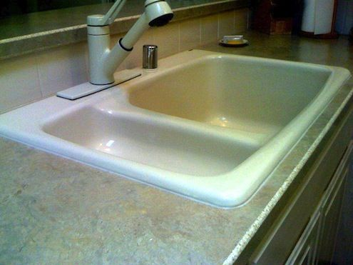 Kitchen Sink Sealant How to caulk a kitchen sink bob vila radio bobs blogs utility how to caulk a kitchen sink bob vila radio bobs blogs workwithnaturefo