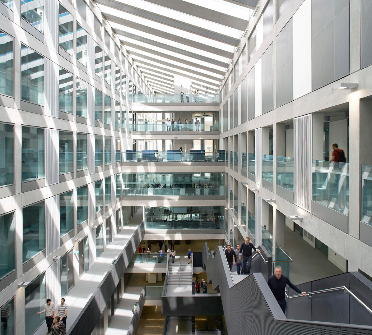 Fcb Studios Manchester Metropolitan University Business School School Campus Pinterest