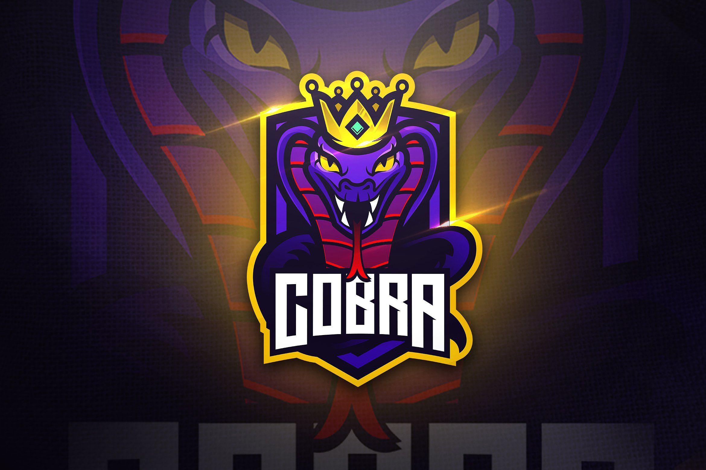 Cobra Mascot Esport Logo Esport Logo Mascot Logo Design Template