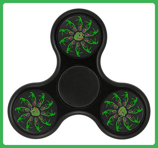 Lost 7er 2017 Upgraded Version FAST & LONG TIME Tri-Hands,Perfect for ADHD E ADD,Controlling Stress Reducer EDC Focus Toy (Dat Boi) - Fidget spinner (*Amazon Partner-Link)