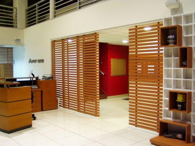 Separador de ambiente de madera cl recherche google - Mamparas separadoras de ambientes ...