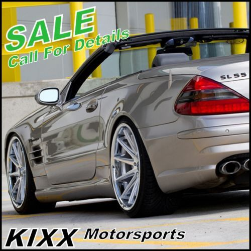 "Sport Car Collections Jayde Mercedes Benz Customized: 20"" ROHANA RC10 20x9 20x11 SILVER CONCAVE WHEELS MERCEDES"