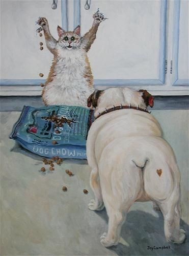 """Busted"" - Original Fine Art for Sale - © Joy Campbell"